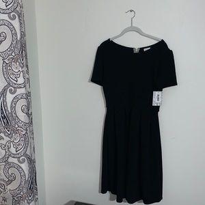 LULAROE - NWT Black Amelia Dress